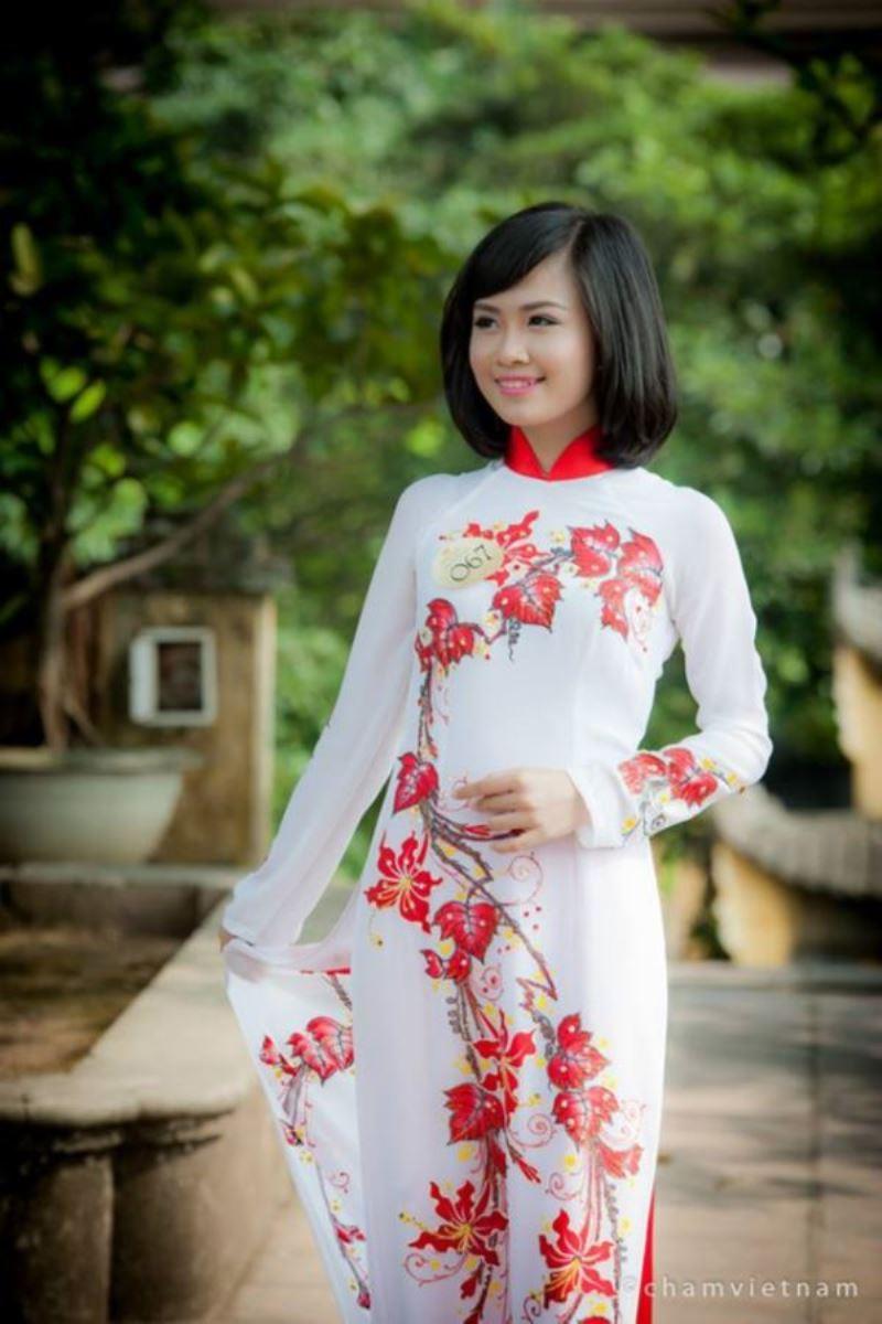 ベトナム民族衣装アオザイ画像 31