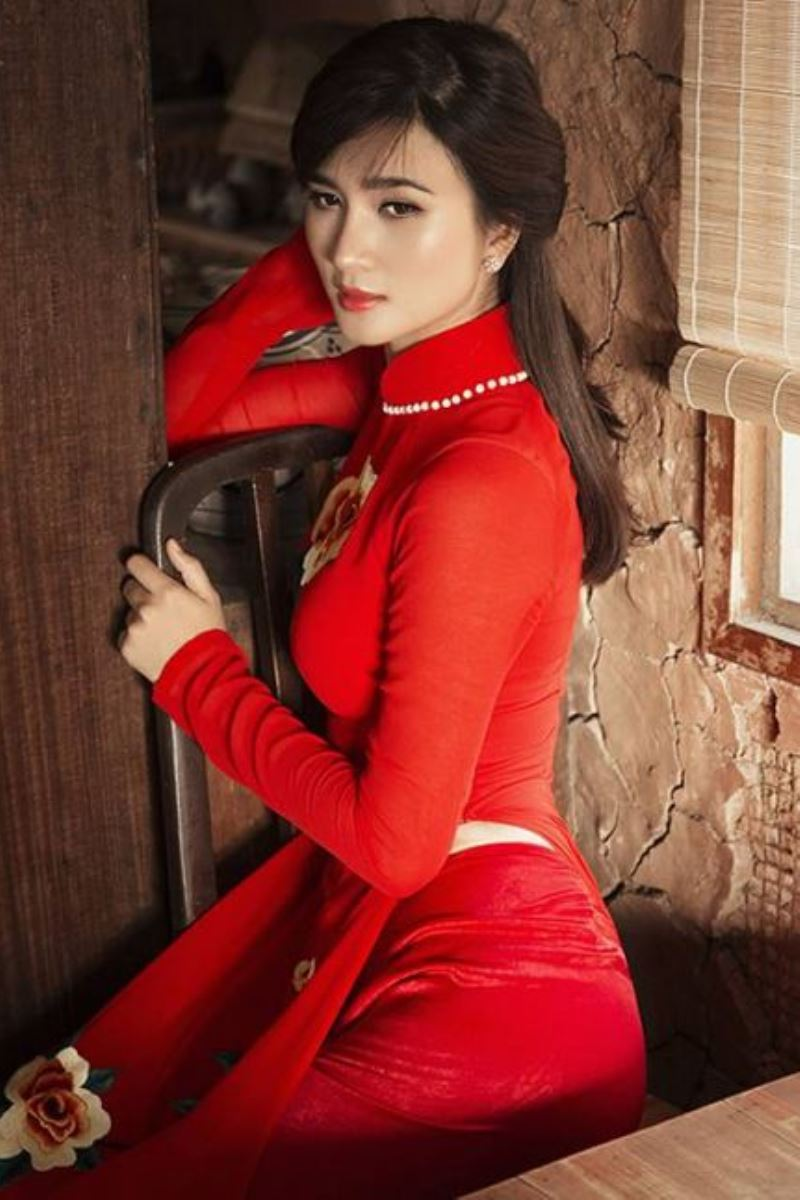 ベトナム民族衣装アオザイ画像 43