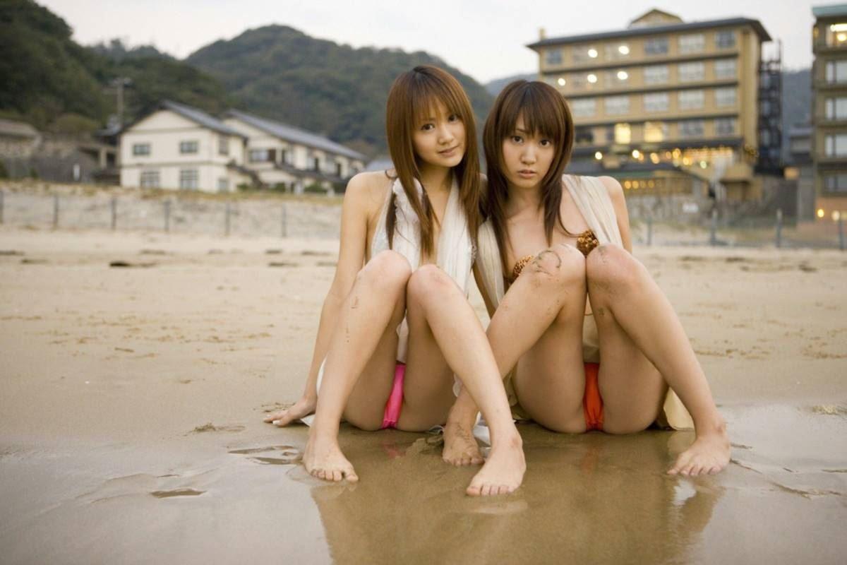 浜田翔子・浜田コウ 姉妹エロ画像 18