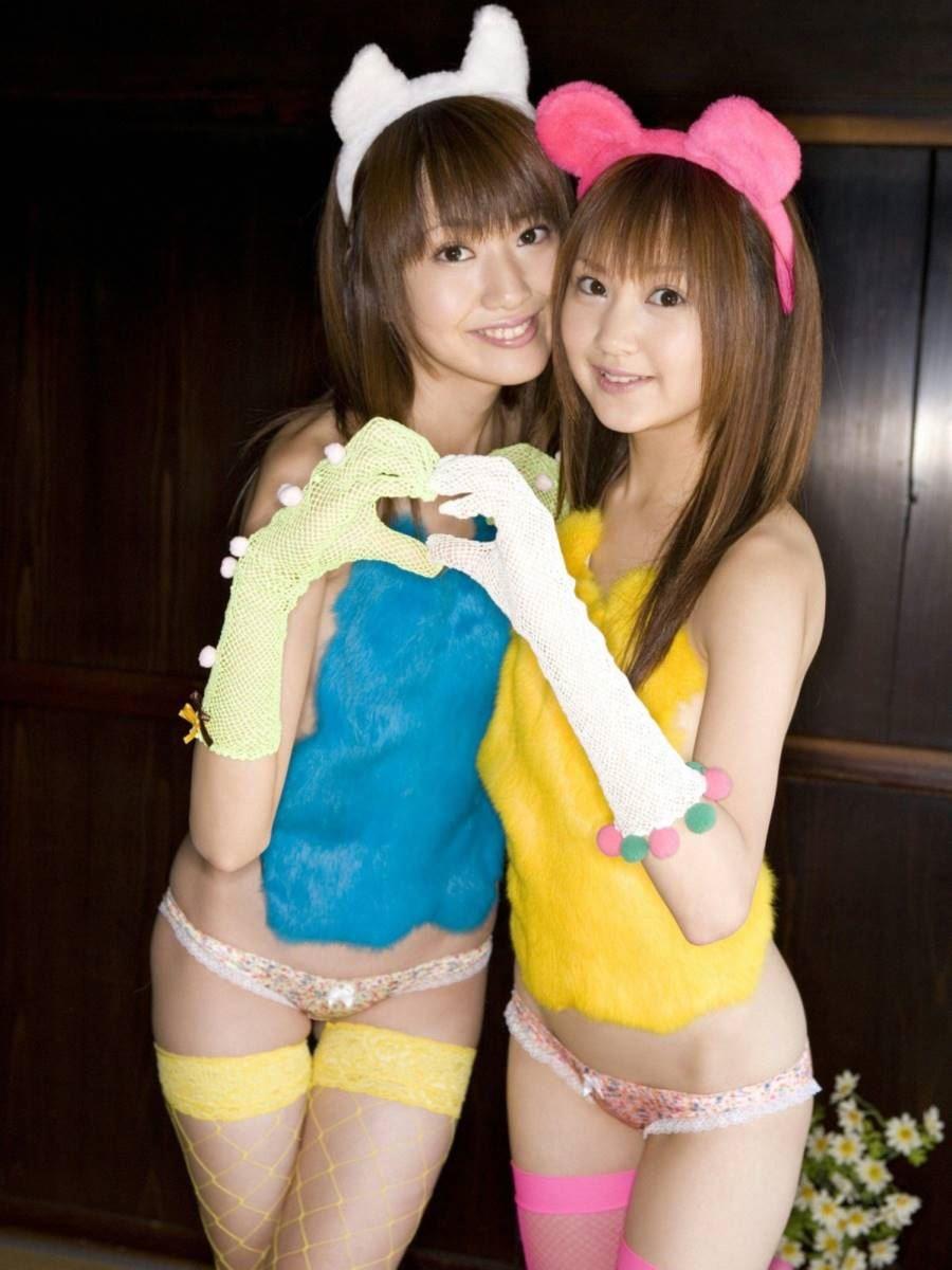浜田翔子・浜田コウ 姉妹エロ画像 26