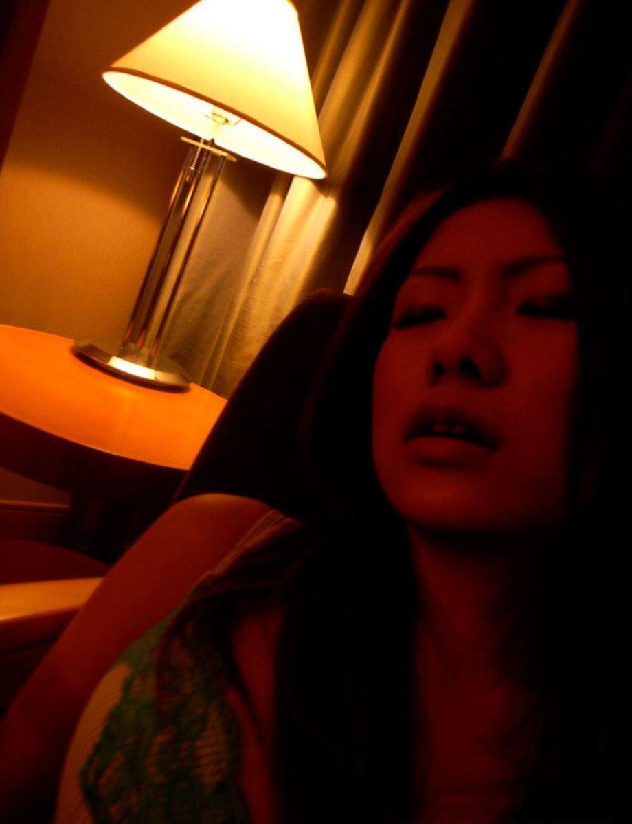 フェラ顔がブサイクな素人女のハメ撮り画像 22