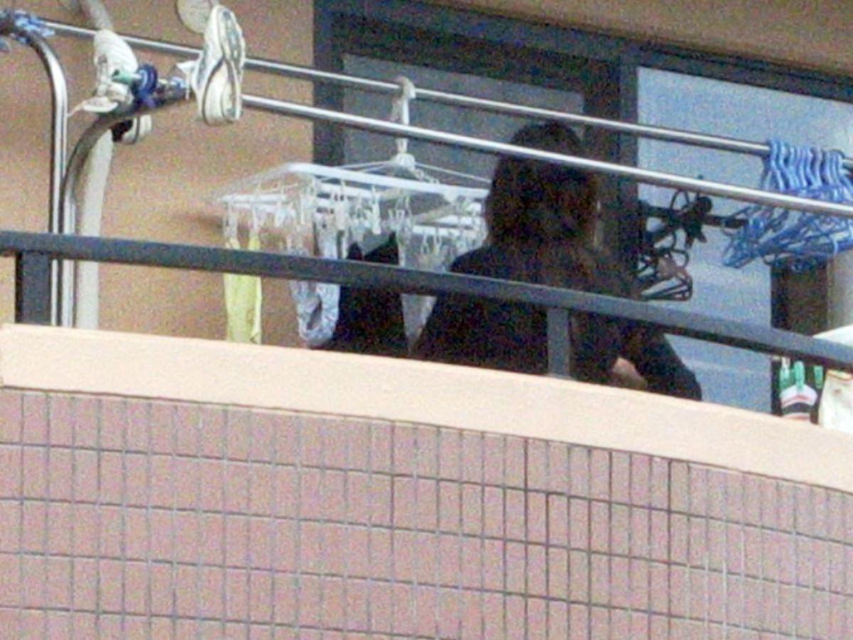 ベランダの下着盗撮画像 18