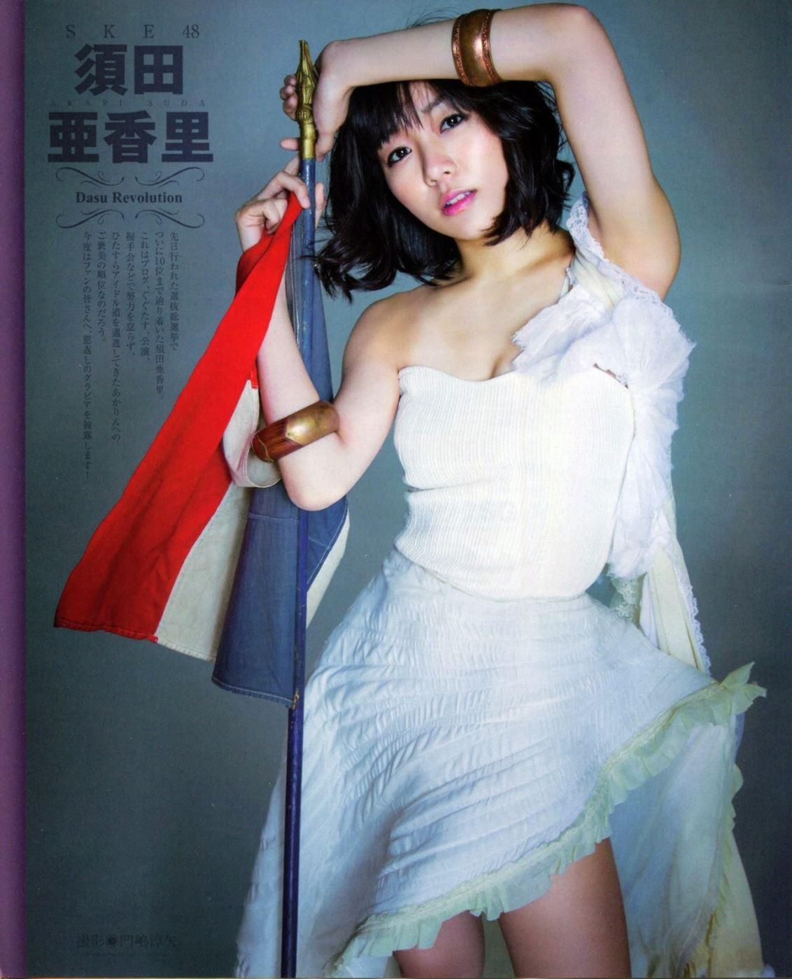 SKE48 須田亜香里 水着グラビア画像 35