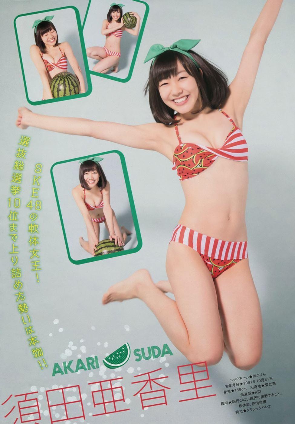 SKE48 須田亜香里 水着グラビア画像 102