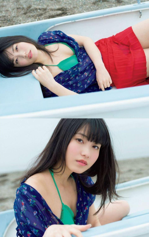 AKB48 横山由依 水着グラビア画像 11