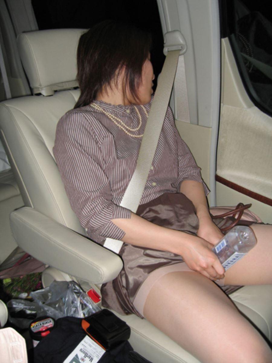 車内オナニー画像 5