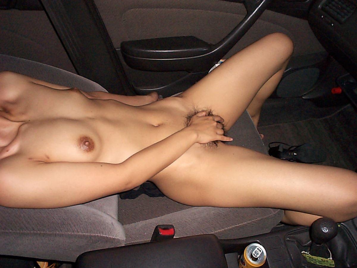 車内オナニー画像 7