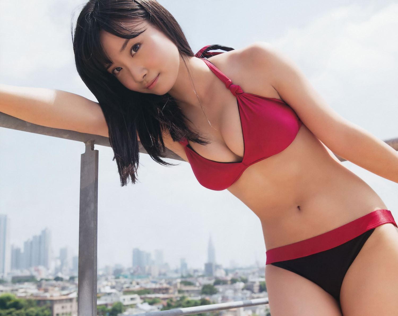 SKE48 柴田阿弥 水着グラビア画像 4