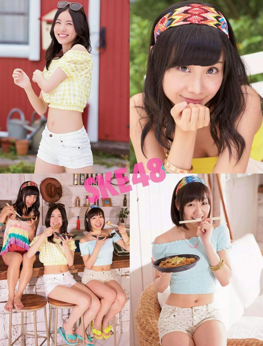 SKE48 柴田阿弥 水着グラビア画像 80