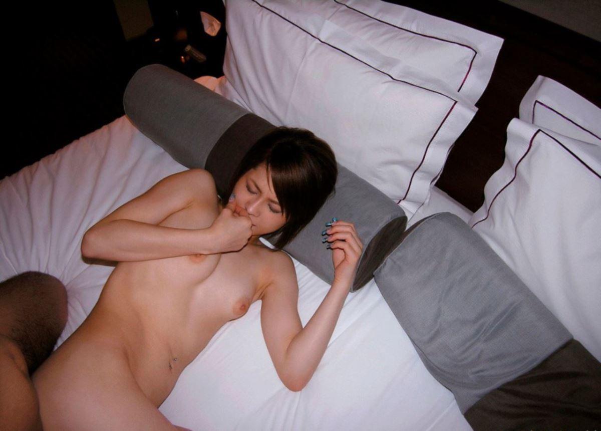 感度抜群 若妻 素人 ハメ撮り セックス画像 54