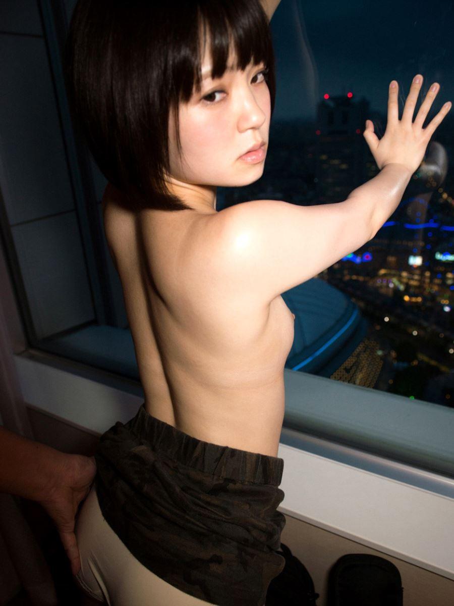 ちっぱい 黒髪少女 電マ責め 埴生みこ セックス エロ画像 41