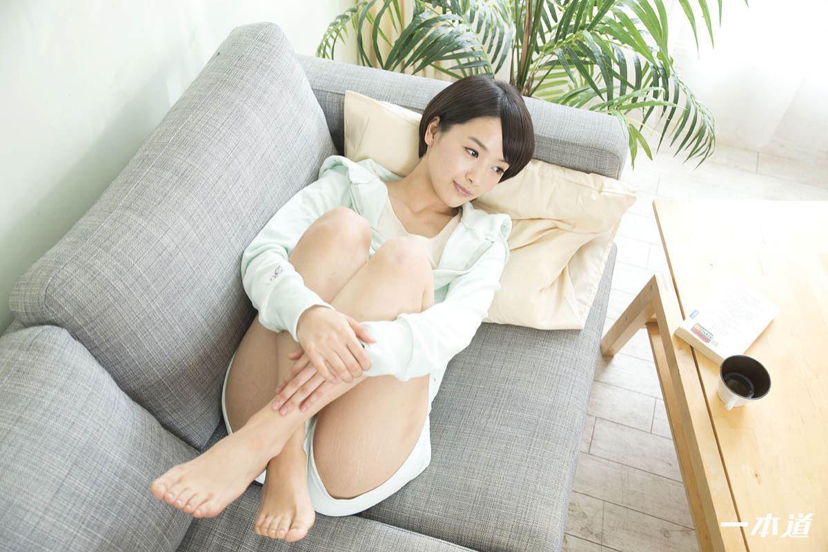 ショートカットの清純派美少女・羽田真里セックス画像