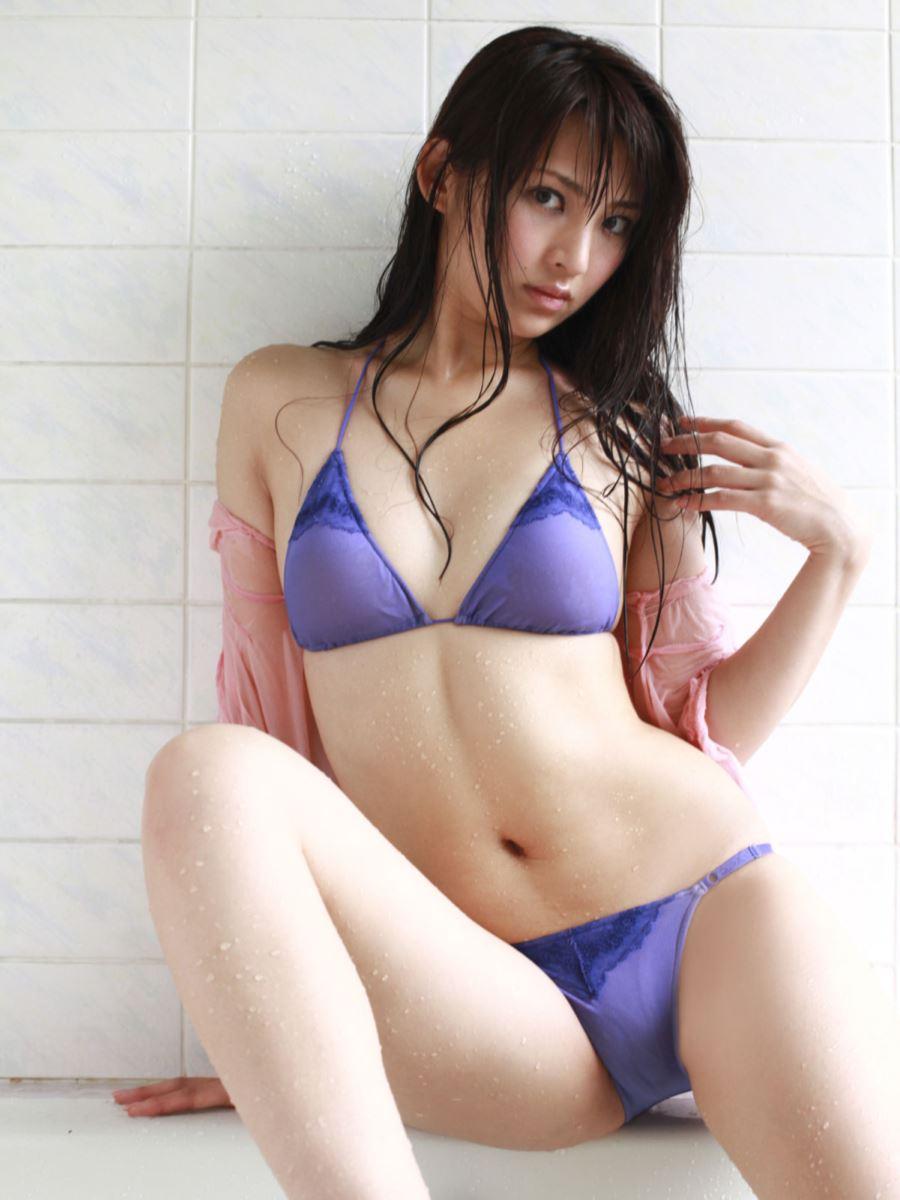 競泳水着 ビキニ姿 かわいい 鈴木咲 エロ画像 34