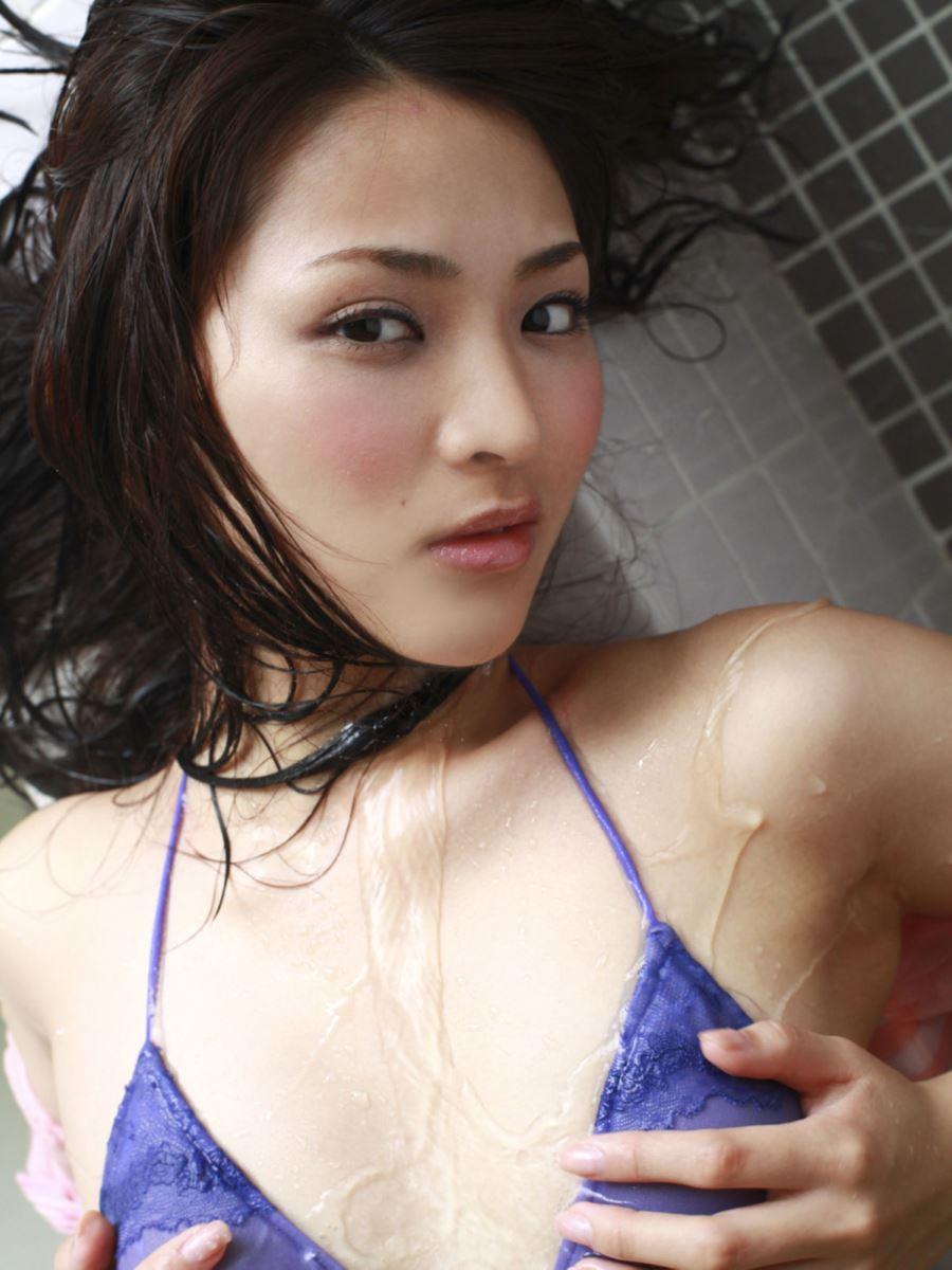競泳水着 ビキニ姿 かわいい 鈴木咲 エロ画像 39
