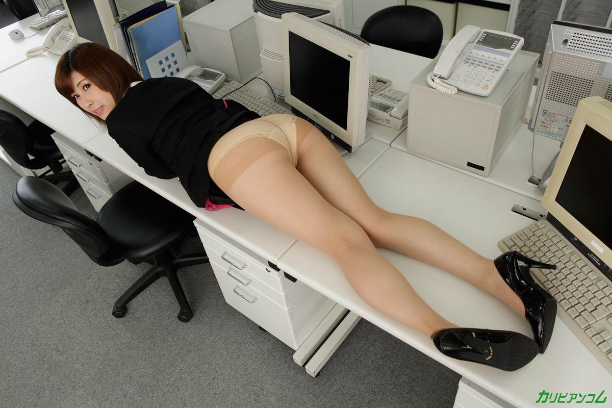 美尻 OL セクハラ 折原ほのか オフィスラブ 画像 31