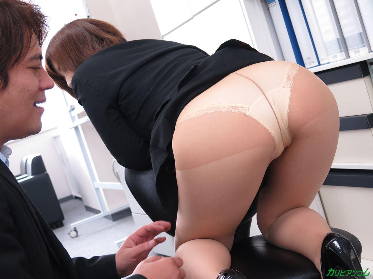 美尻 OL セクハラ 折原ほのか オフィスラブ 画像 39
