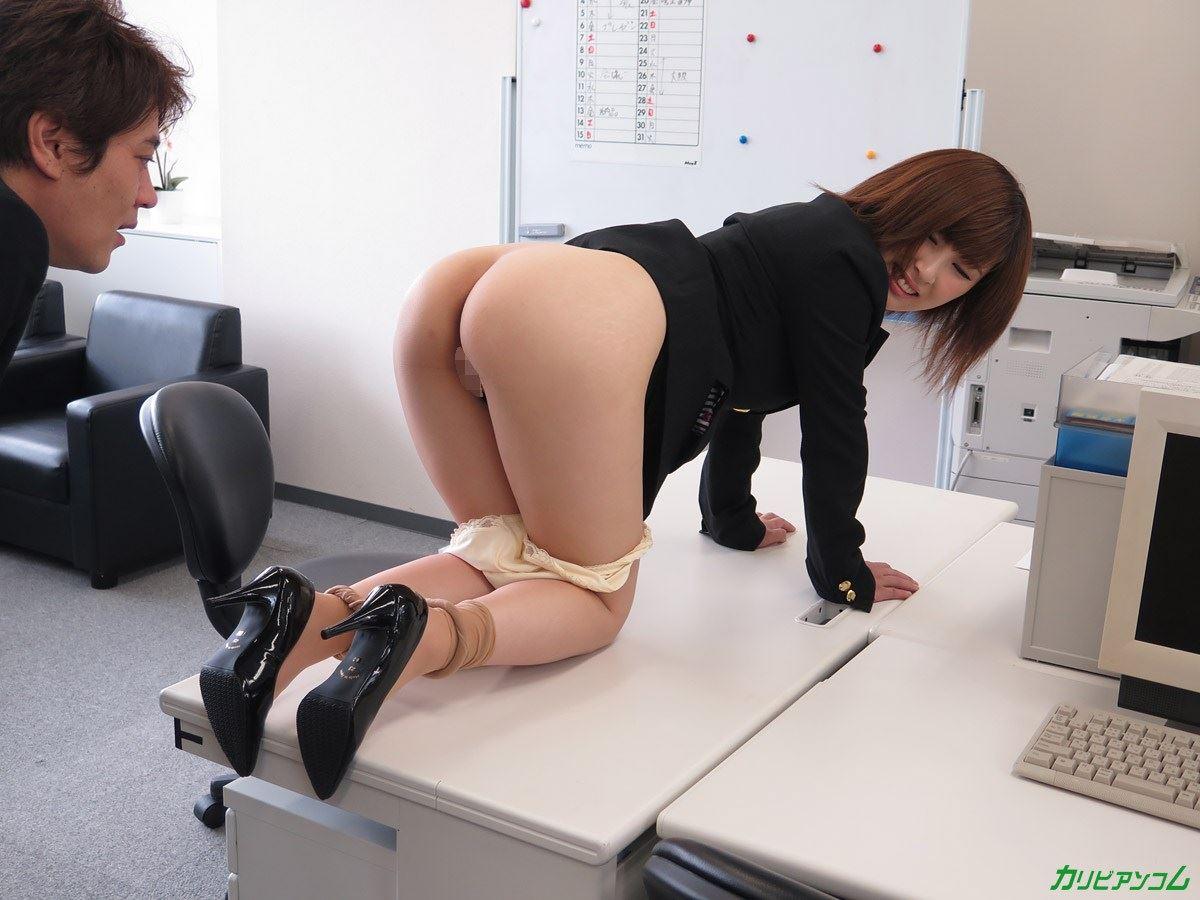 美尻 OL セクハラ 折原ほのか オフィスラブ 画像 41