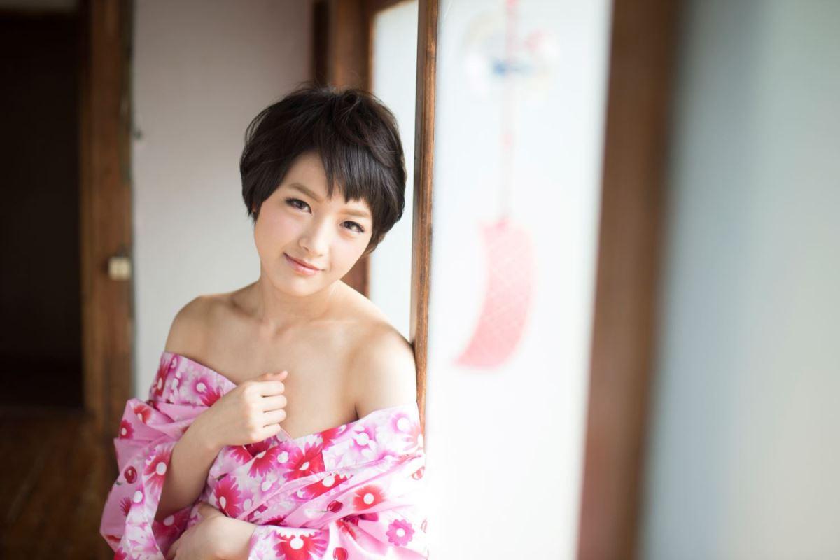 幼馴染 回される 羽田真里 浴衣 セックス 画像 38