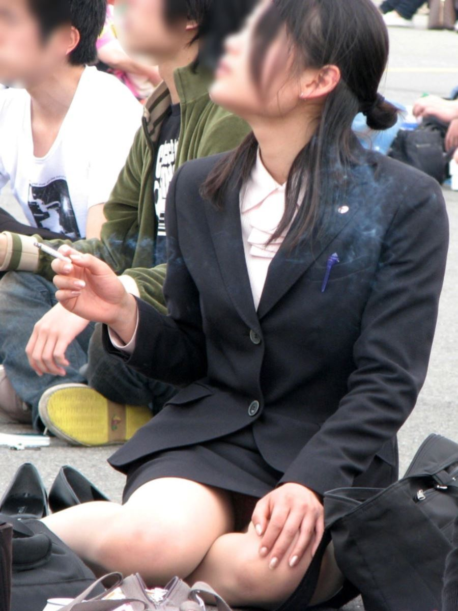 働くお姉さん 盗撮 街撮り パンチラ エロ画像 8