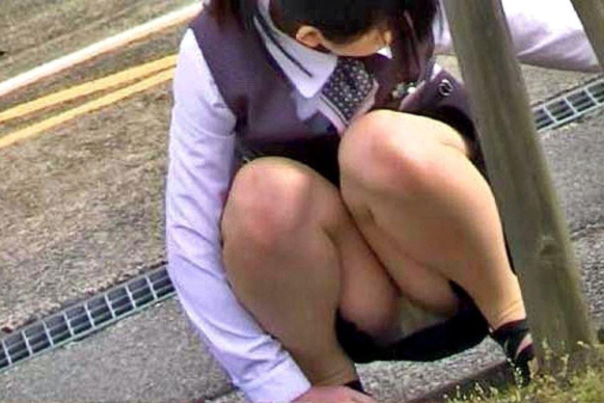 働くお姉さん 盗撮 街撮り パンチラ エロ画像 10