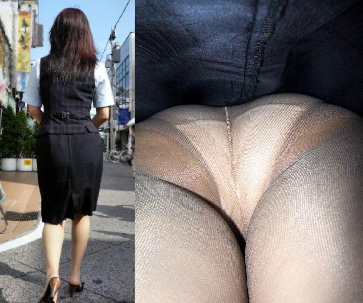 OL 働く女性 逆さ撮り パンチラ エロ画像 3