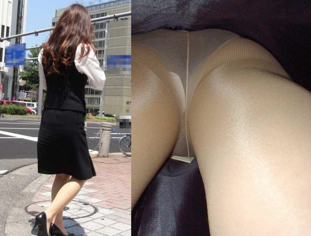 OL 働く女性 逆さ撮り パンチラ エロ画像 7
