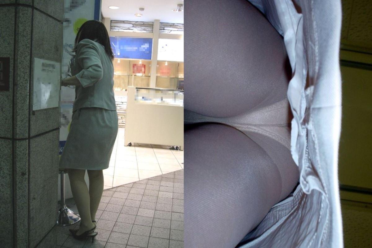 OL 働く女性 逆さ撮り パンチラ エロ画像 17