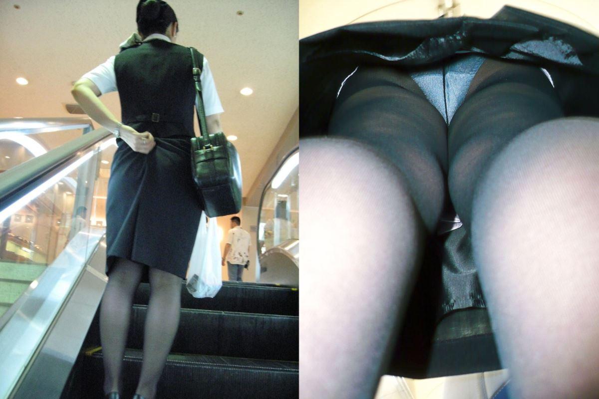 OL 働く女性 逆さ撮り パンチラ エロ画像 25