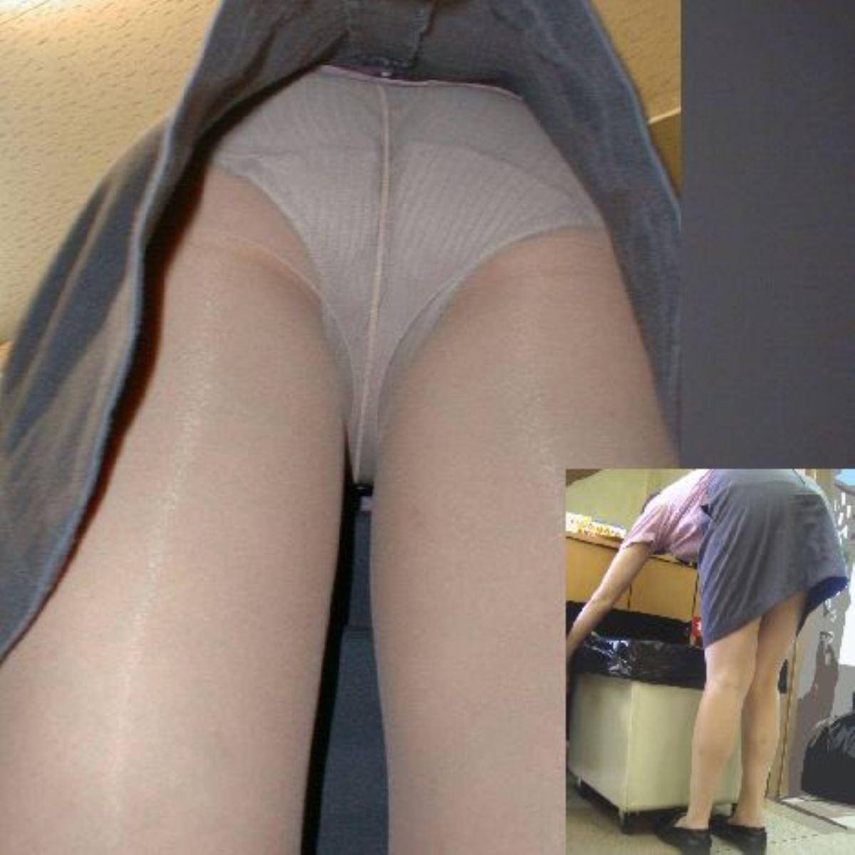 OL 働く女性 逆さ撮り パンチラ エロ画像 27