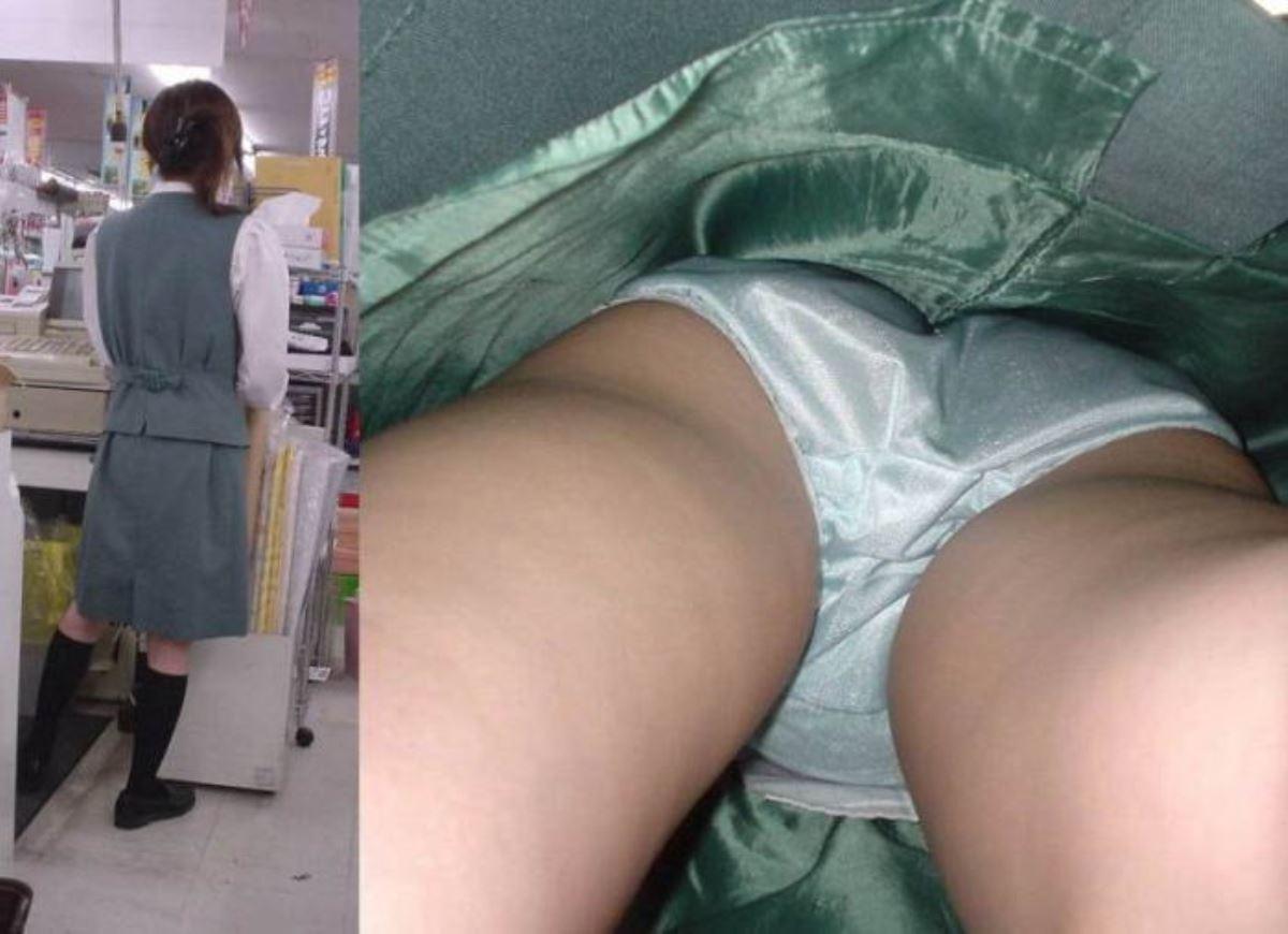 OL 働く女性 逆さ撮り パンチラ エロ画像 31