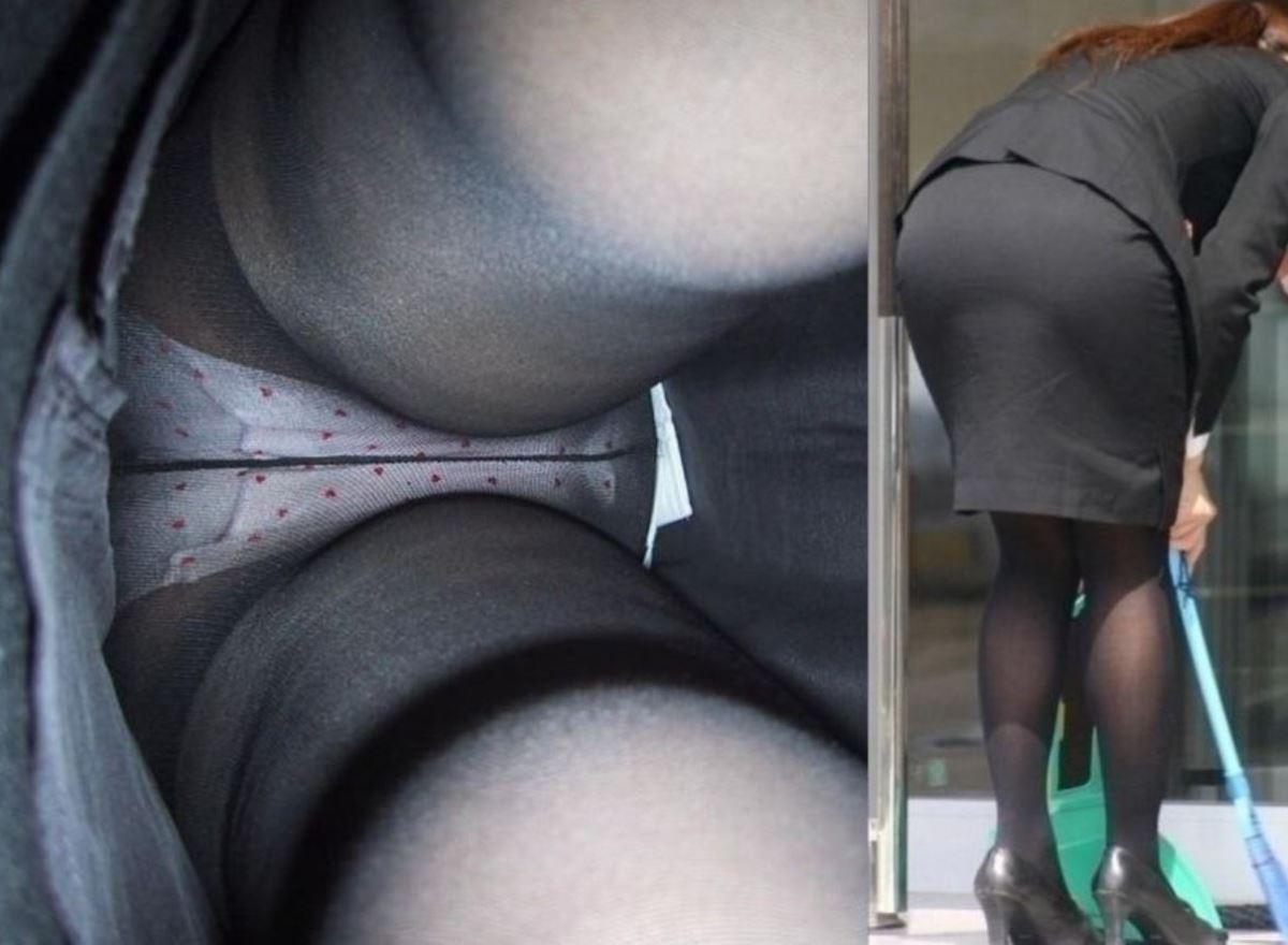 OL 働く女性 逆さ撮り パンチラ エロ画像 34