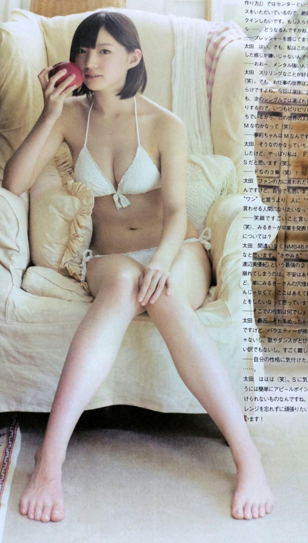 太田夢莉 1万年に1人 可愛い アイドル 水着 画像 49