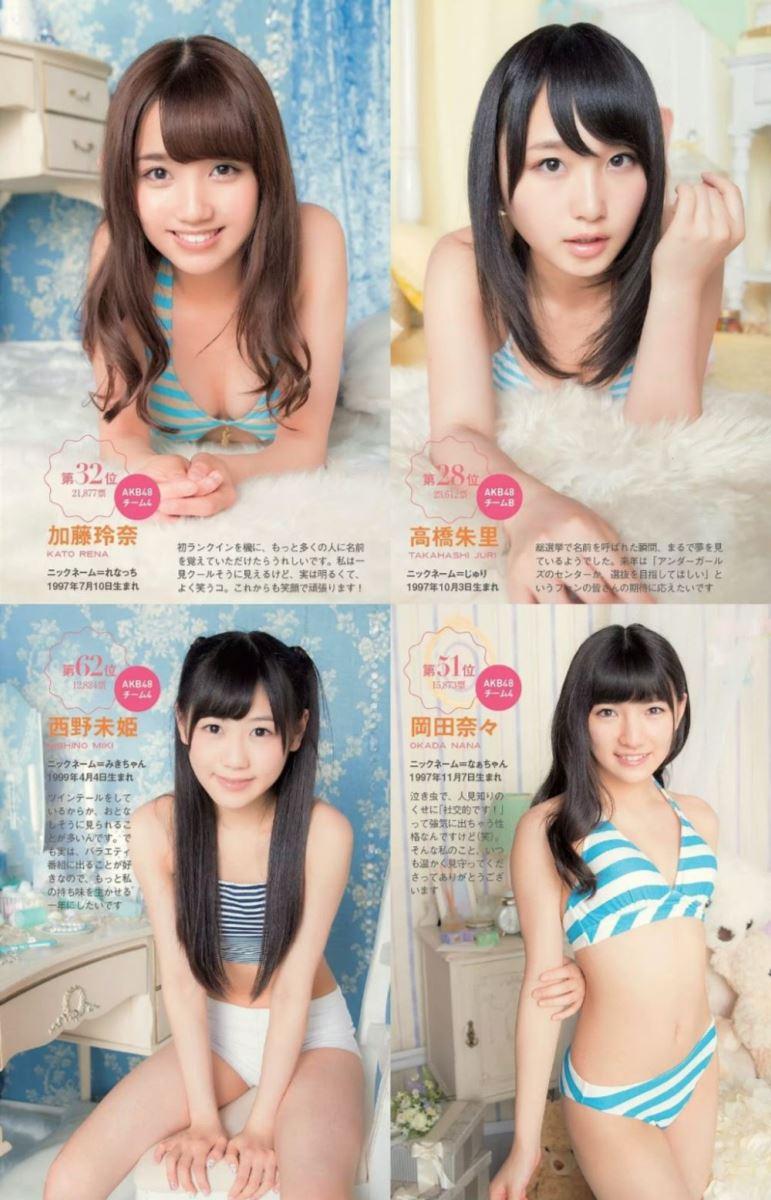 AKB48 高橋朱里 Cカップ 水着 グラビア 画像 94