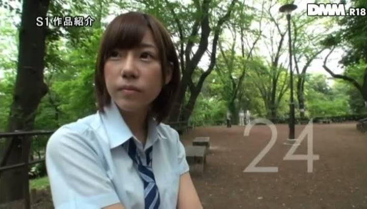 翼(AV女優)奇跡の美少女AVデビュー画像 38