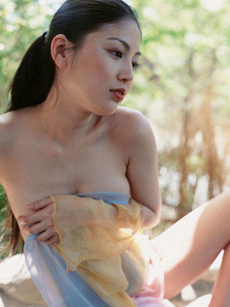 後藤理沙 元CM美少女 セクシー グラビア 画像 4
