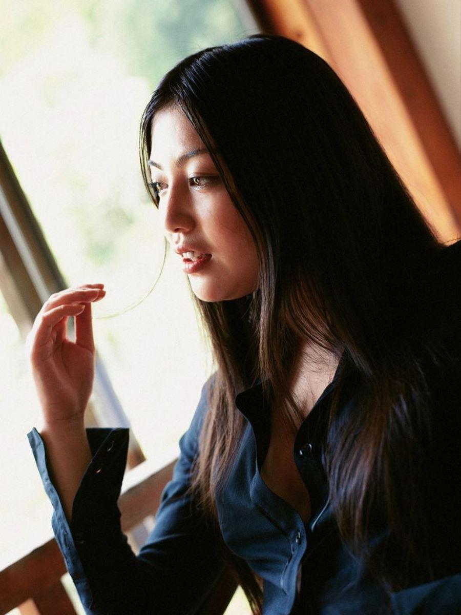 後藤理沙 元CM美少女 セクシー グラビア 画像 16