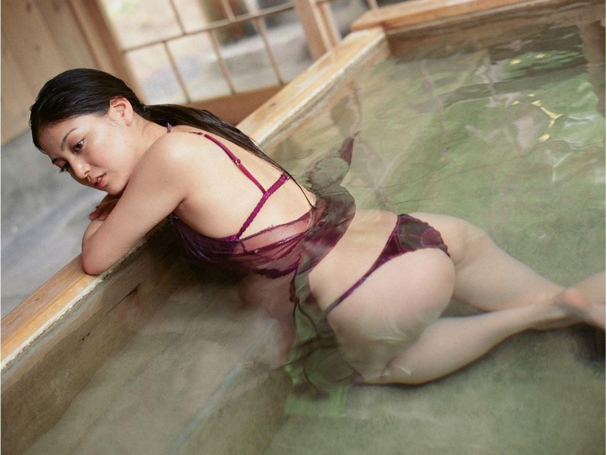 後藤理沙 元CM美少女 セクシー グラビア 画像 19