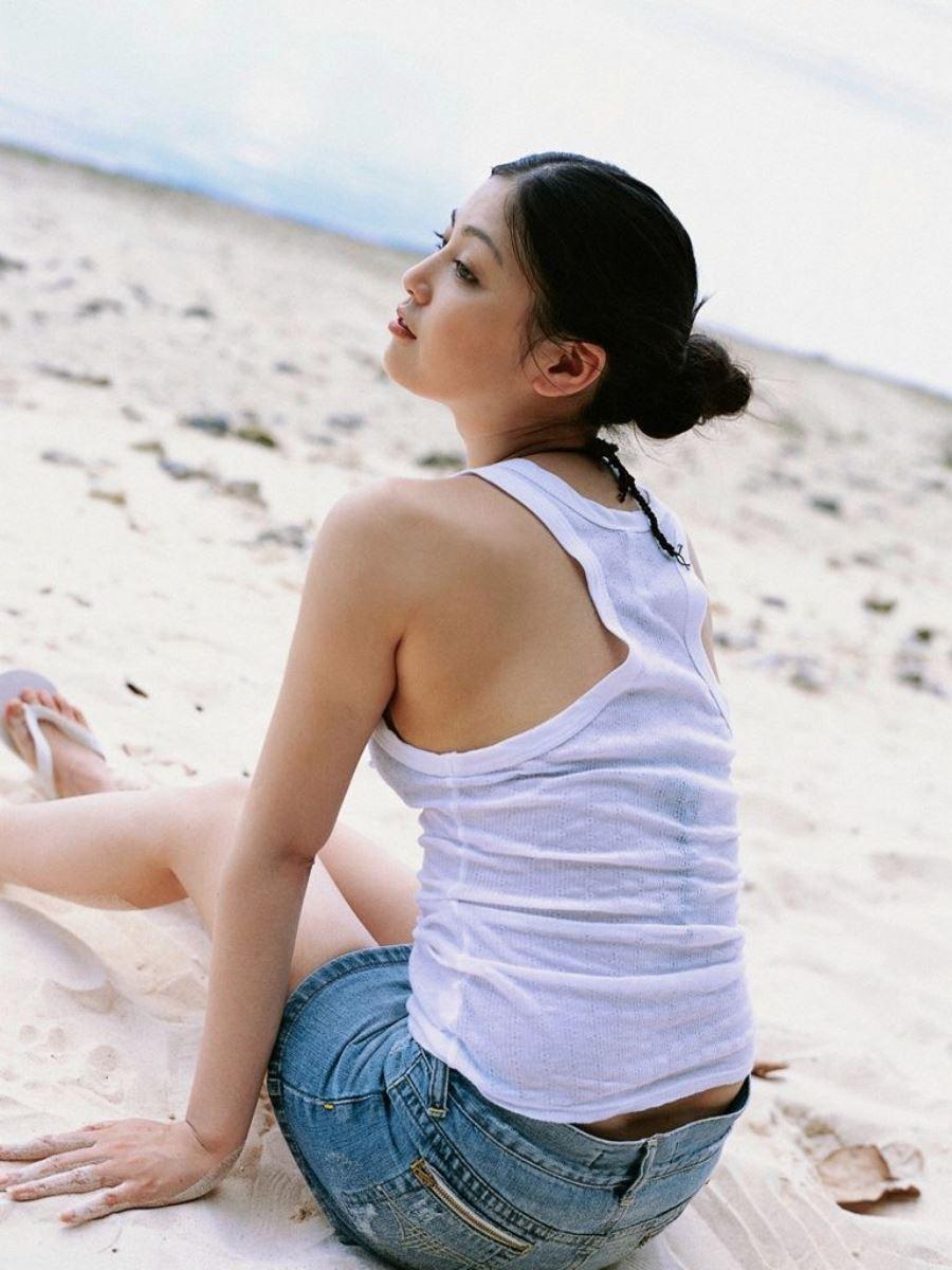 後藤理沙 元CM美少女 セクシー グラビア 画像 129