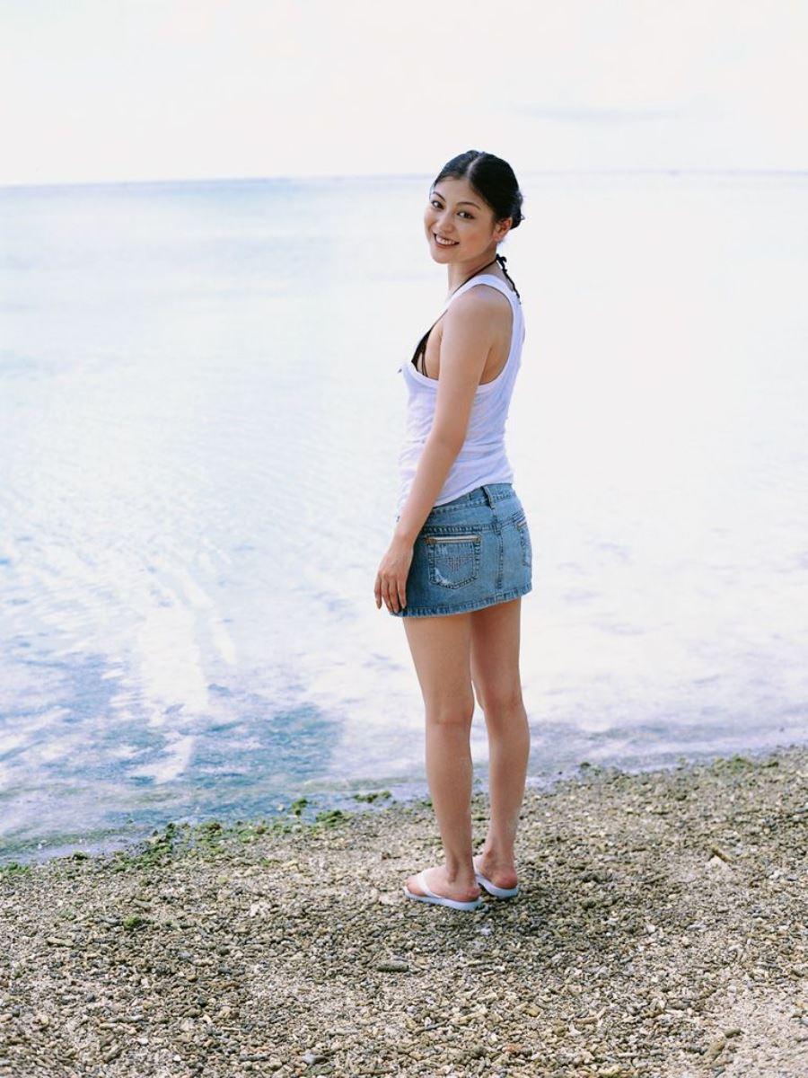 後藤理沙 元CM美少女 セクシー グラビア 画像 145