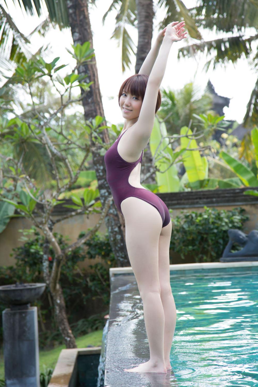 浅倉結希 ショートカット 可愛い 水着 グラビア 画像 12