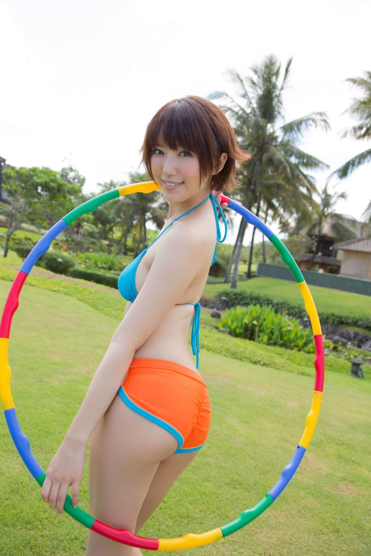 浅倉結希 ショートカット 可愛い 水着 グラビア 画像 24