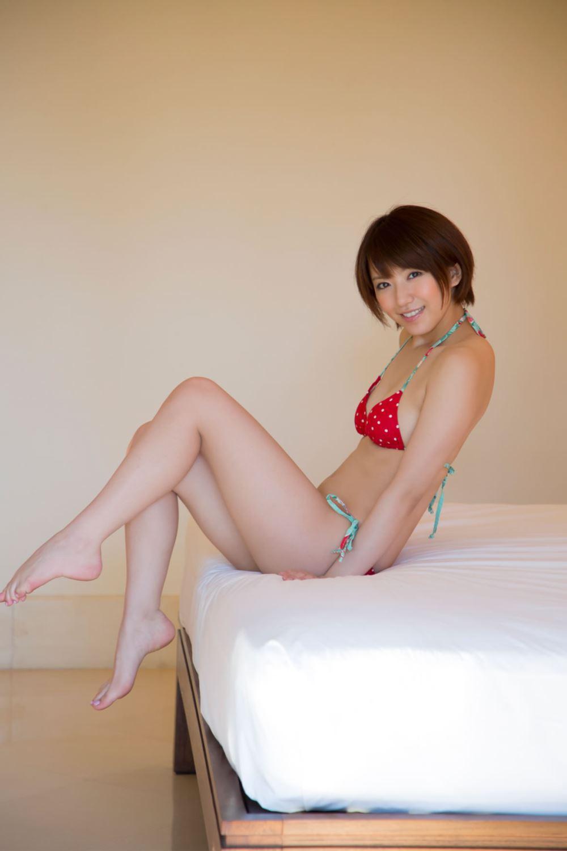 浅倉結希 ショートカット 可愛い 水着 グラビア 画像 40