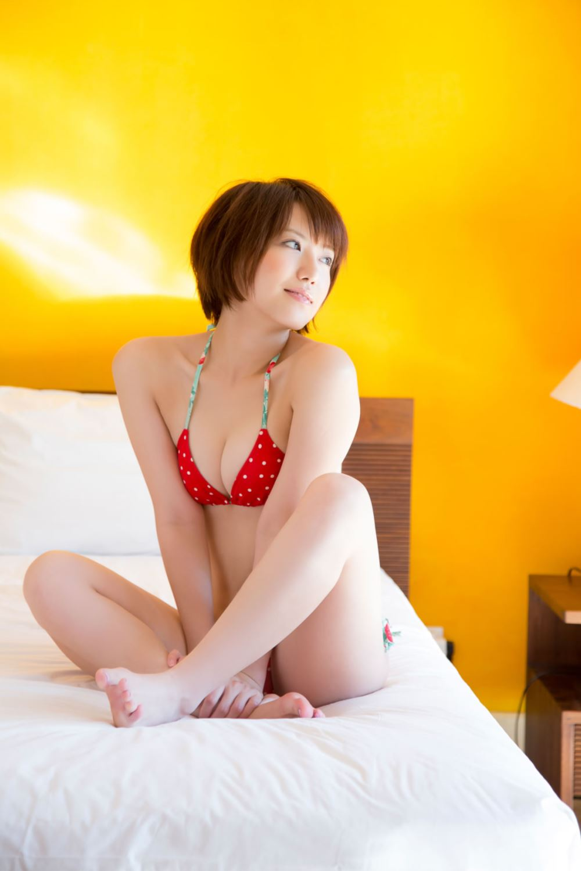 浅倉結希 ショートカット 可愛い 水着 グラビア 画像 44