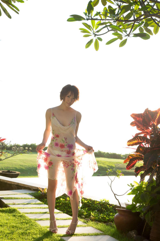 浅倉結希 ショートカット 可愛い 水着 グラビア 画像 49