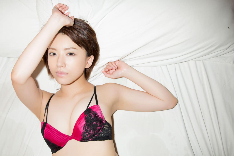 浅倉結希 ショートカット 可愛い 水着 グラビア 画像 59