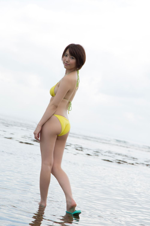 浅倉結希 ショートカット 可愛い 水着 グラビア 画像 69
