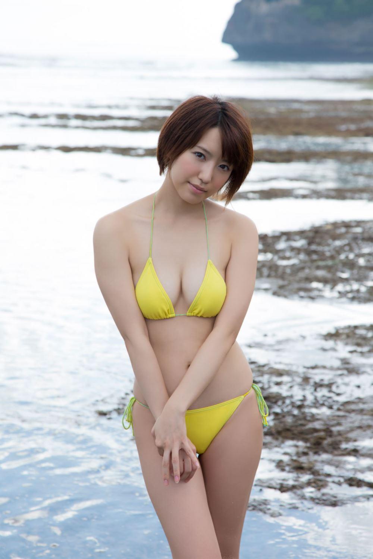 浅倉結希 ショートカット 可愛い 水着 グラビア 画像 70