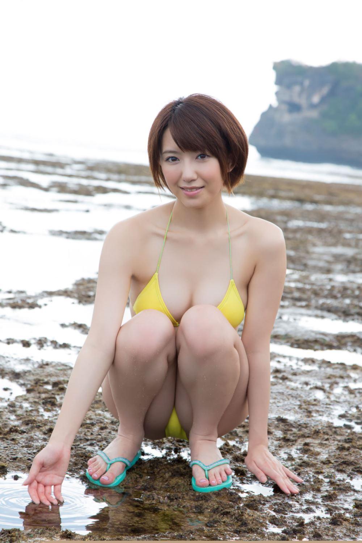 浅倉結希 ショートカット 可愛い 水着 グラビア 画像 71
