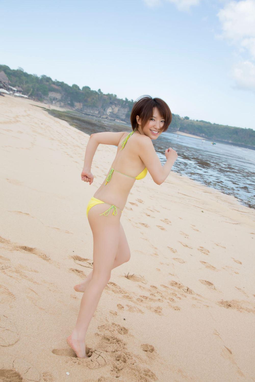 浅倉結希 ショートカット 可愛い 水着 グラビア 画像 72