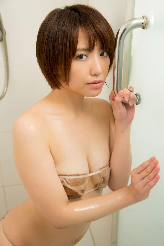 浅倉結希 ショートカット 可愛い 水着 グラビア 画像 91